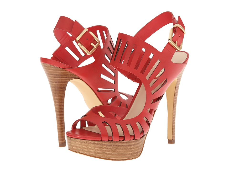 GUESS Kabirra (Red Leather) High Heels