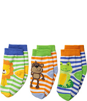 Jefferies Socks - Jungle 3-Pack (Infant/Toddler)