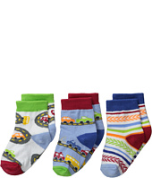 Jefferies Socks - Vehicles 3-Pack (Infant/Toddler)