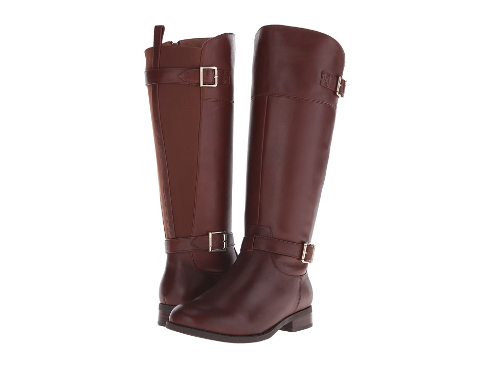Vionic Country Storey Tall Boot (Toffee) Women's Zip Boots