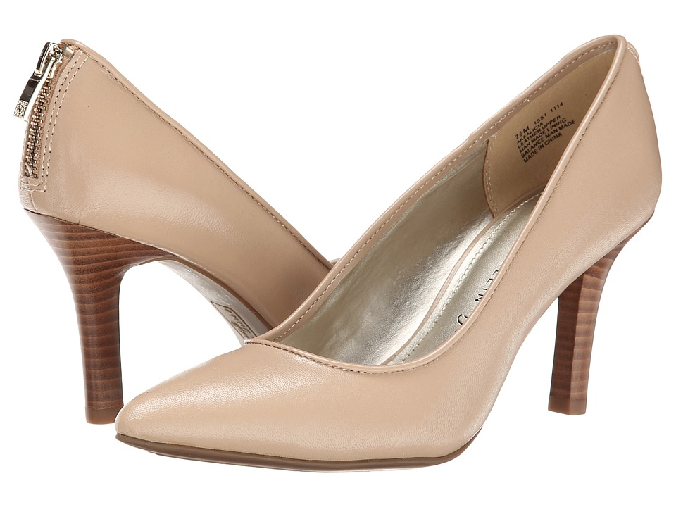 Anne Klein Falicia Light Natural Leather High Heels