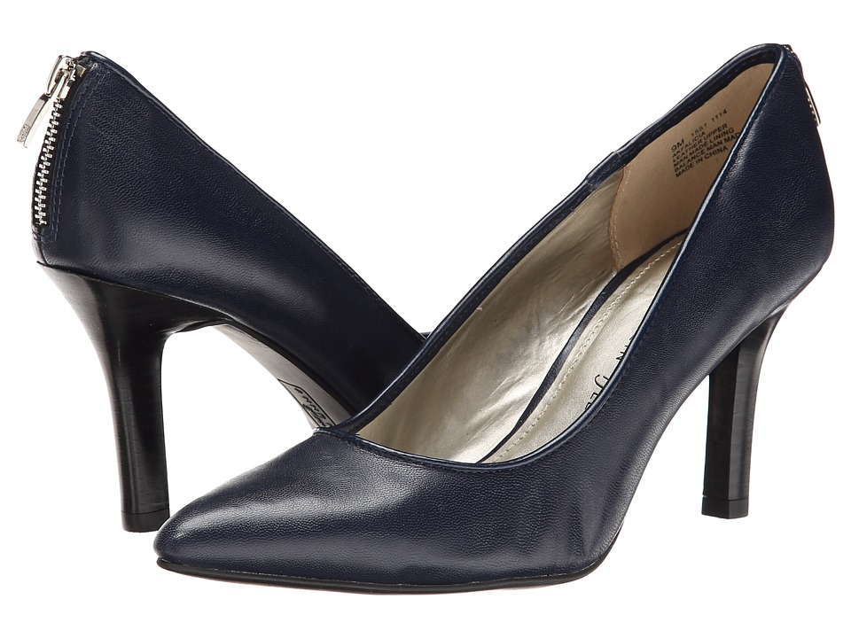Anne Klein - Falicia (Navy Leather) High Heels