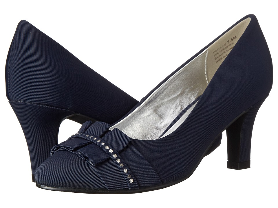 David Tate Stardust (Navy) High Heels
