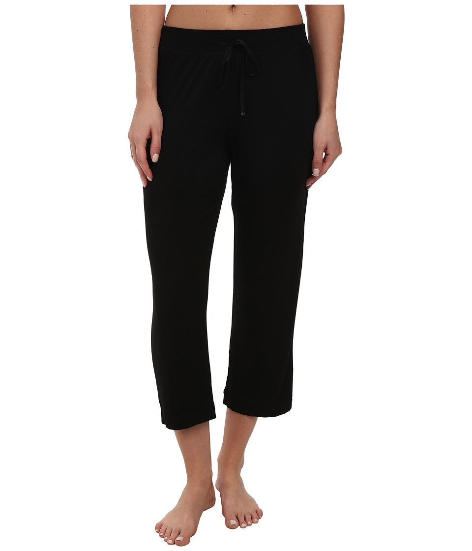 DKNY - Urban Essentials Capris (Black) Women's Pajama