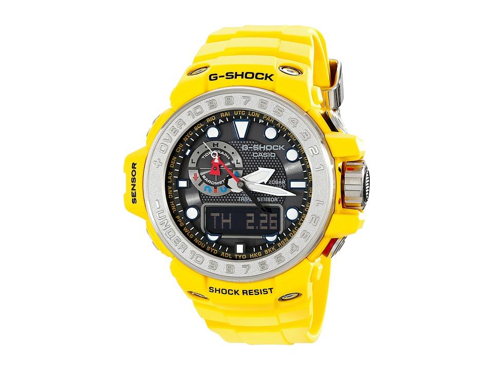 G Shock Gulf Master Yellow Watches