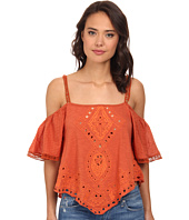Free People - Toosaloosa Slub Dahlia Cutwork Top
