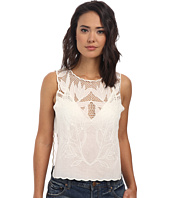 Free People - Solid Voile Island in the Sun Crop Top
