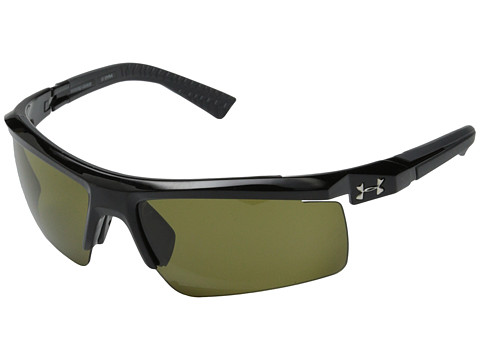 Under Armour Core 2.0 - Shiny Black/Charcoal Gray Frame/Game Day Lens