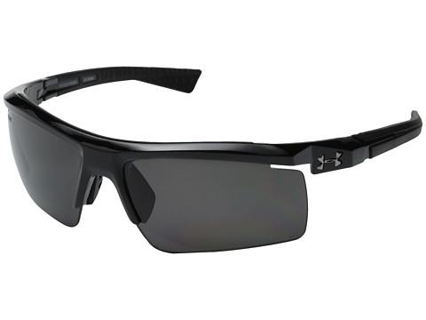 Under Armour Core 2.0 - Storm ANSI Shiny Black/Black Frame/Gray Polarized Lens