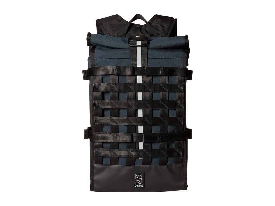 Chrome Barrage Indigo/Black Bags