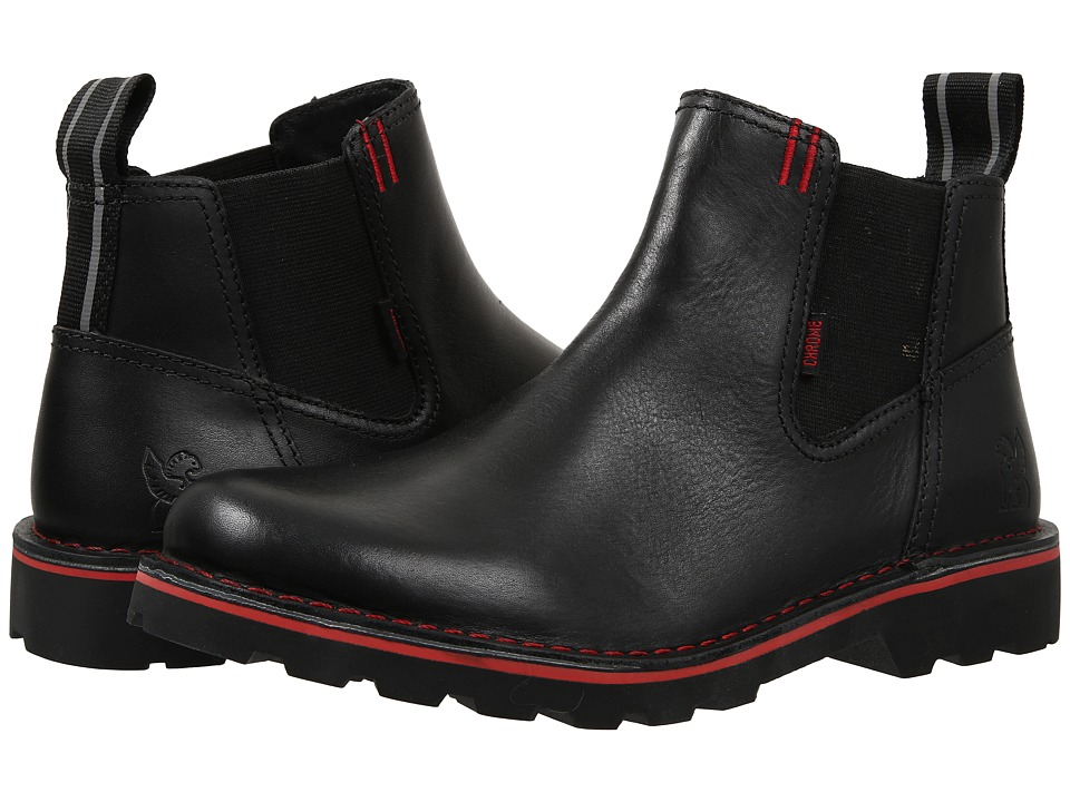 Chrome 212 Chelsea Boot Black Pull on Boots