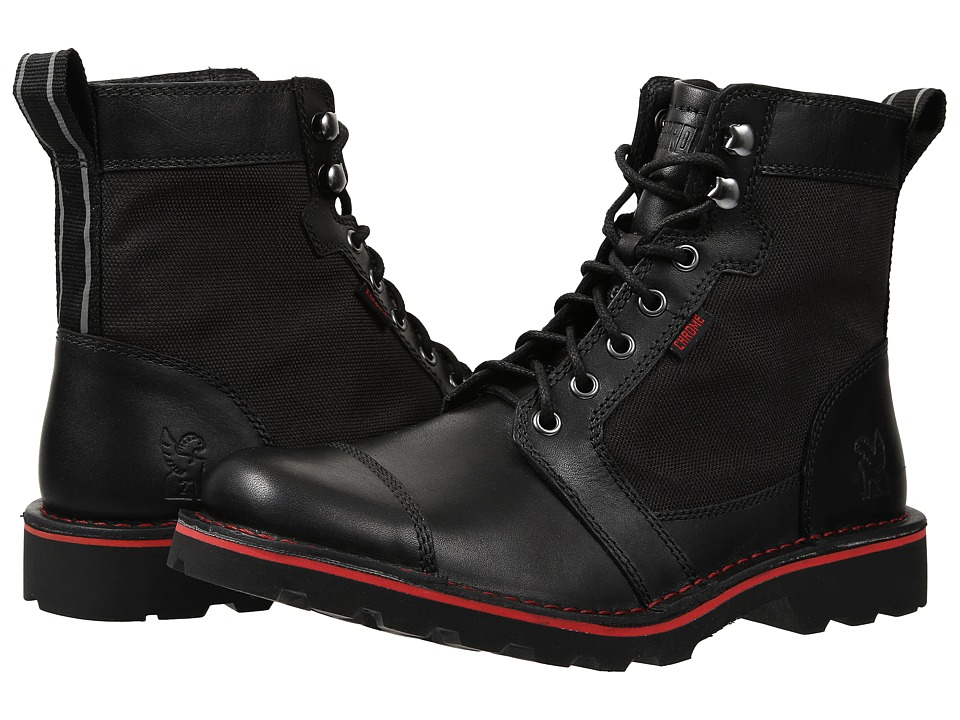 Chrome 503 Combat Boot (Black) Lace-up Boots