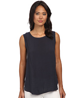Allen Allen - Sleeveless Crew with Lace Back