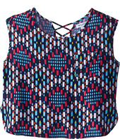Splendid Littles - Geo Printed Top (Big Kids)