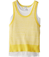 Splendid Littles - Fashion Sweater 2fer Tank Top (Big Kids)