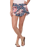 Free People - Printed Rayon Extreme Crossover Shorts