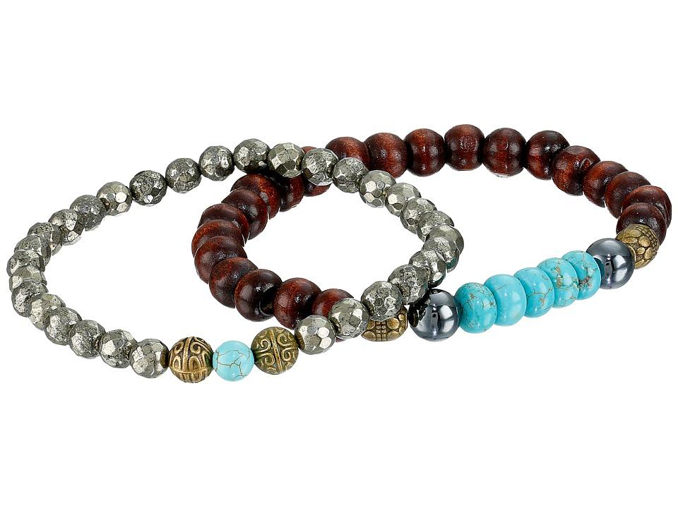 Dee Berkley - Health (Brown/Turquoise) Bracelet