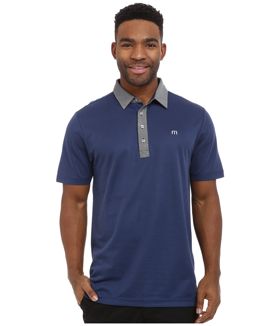 TravisMathew The Grexican Medieval Blue Mens Clothing