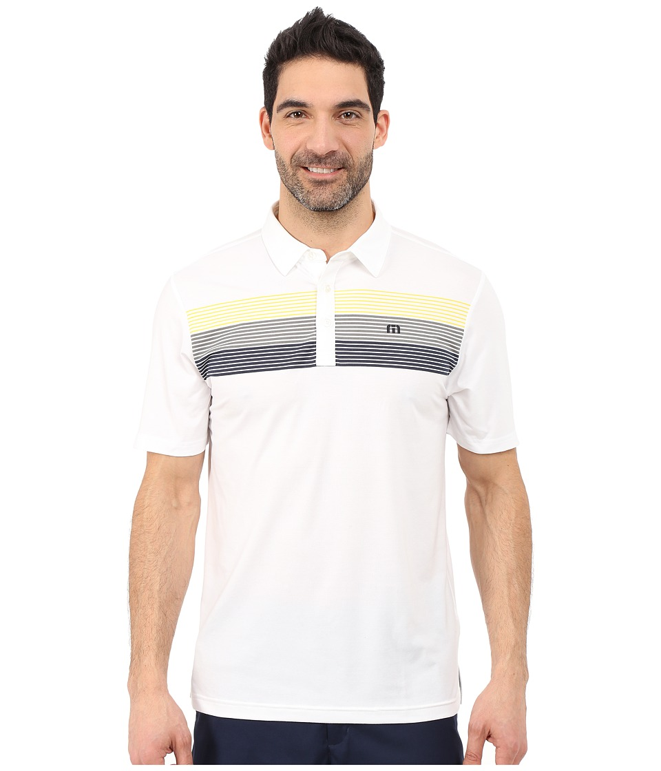 TravisMathew Captain White Mens Clothing