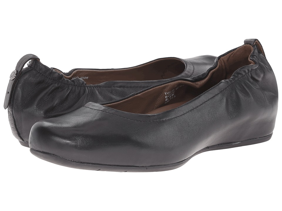 Earth Tolo Earthies Black Leather Womens Shoes