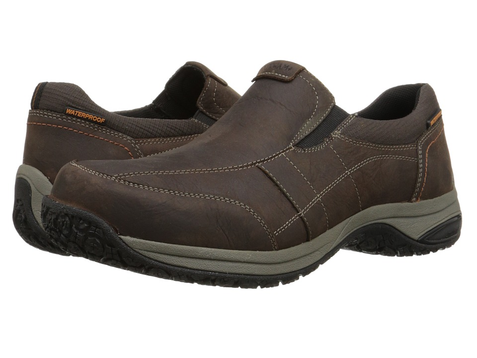 Dunham Litchfield Slip-On Waterproof (Brown) Men
