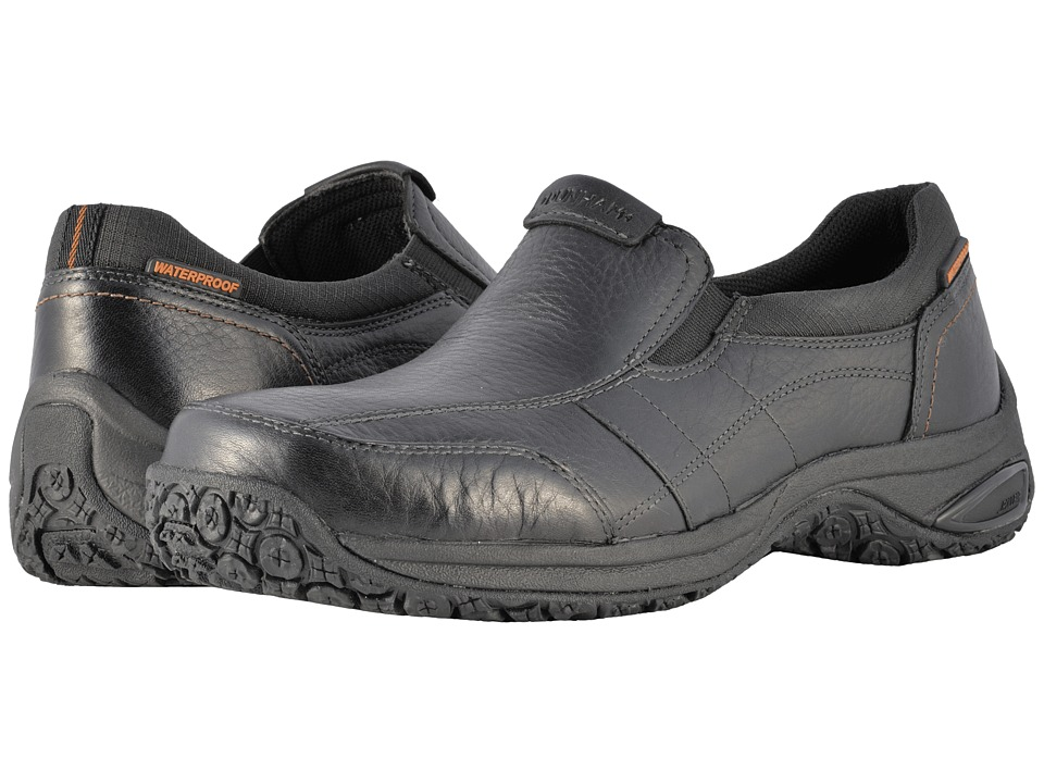 Dunham Litchfield Slip-On Waterproof (Black) Men