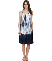 Allen Allen - Tie-Dye Slip Dress