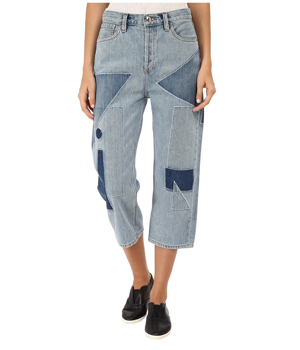 Marc by Marc Jacobs Big Jean Patch On Patch Womens Jeans