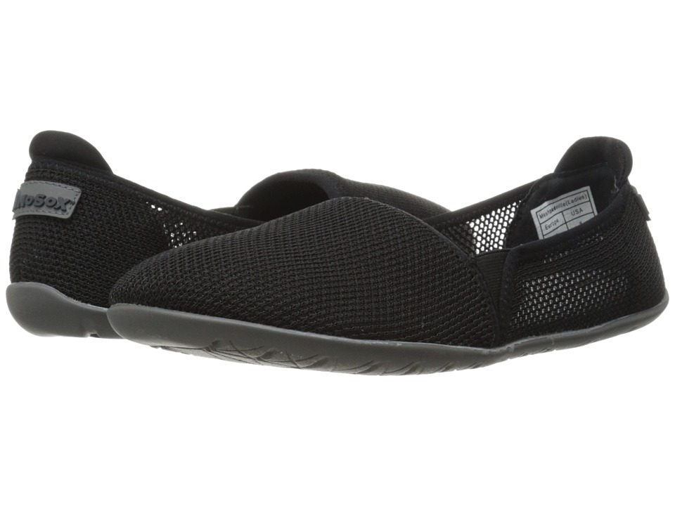 NoSoX Meshpadrille Black Womens Shoes