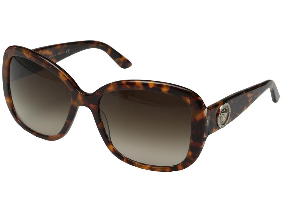 Versace VE4278B Havana/Animalier Brown/Brown Gradient Fashion Sunglasses