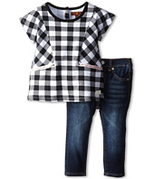7 For All Mankind Kids - Skinny Jeans and Dolman Sleeve Top (Infant)