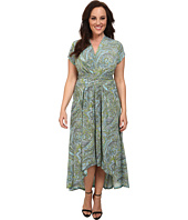 MICHAEL Michael Kors - Plus Size Ashbury Paisley Wrap Dress