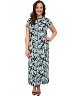 MICHAEL Michael Kors - Plus Size Bamboo Crew Neck Maxi Dress