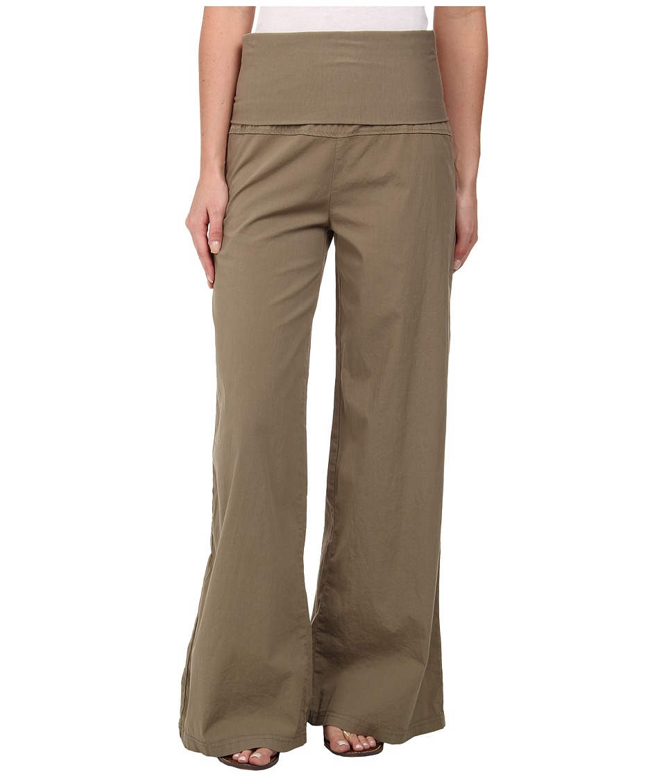 XCVI Fold Over Palazzo Silt Womens Casual Pants