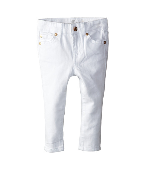 7 For All Mankind Kids Skinny Jeans in Clean White (Infant) - Old