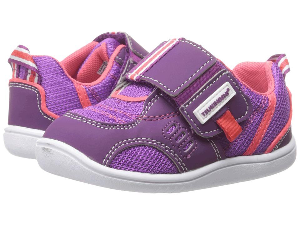 Tsukihoshi Kids Cali Toddler Purple/Coral Girls Shoes