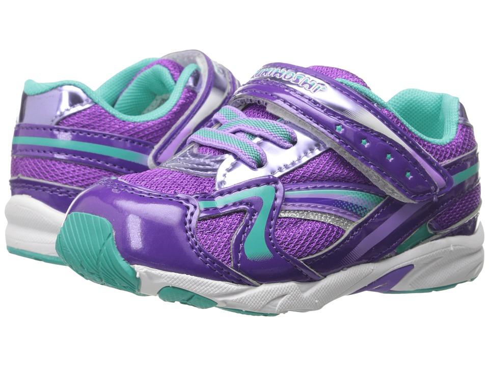 Tsukihoshi Kids B. Glitz Toddler Purple/Mint Girls Shoes