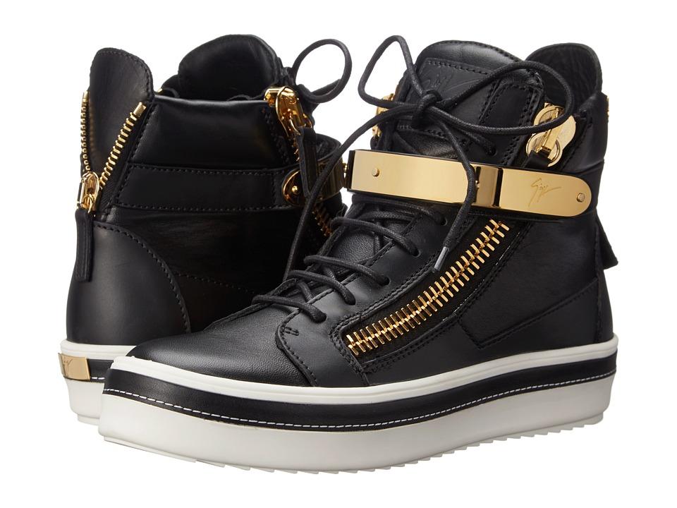 Giuseppe Zanotti RW5052 Nero Womens Lace up casual Shoes