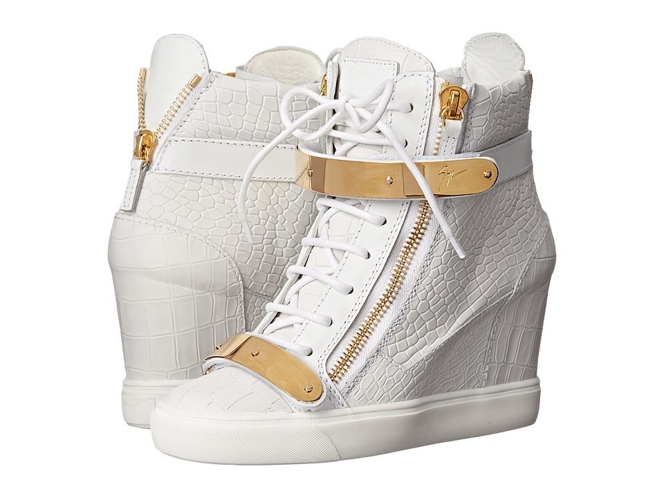 Giuseppe Zanotti RW5007 Ringo Bianco Womens Shoes