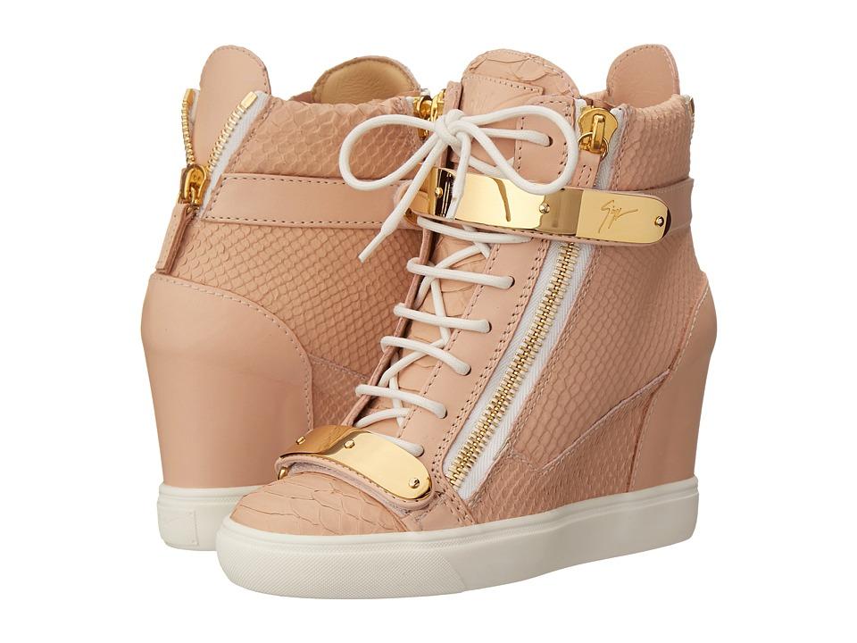Giuseppe Zanotti RW5007 Golia Print Rosa Womens Shoes