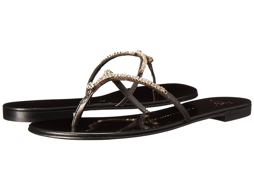 Giuseppe Zanotti I50002 Metal Antracitre Womens Shoes