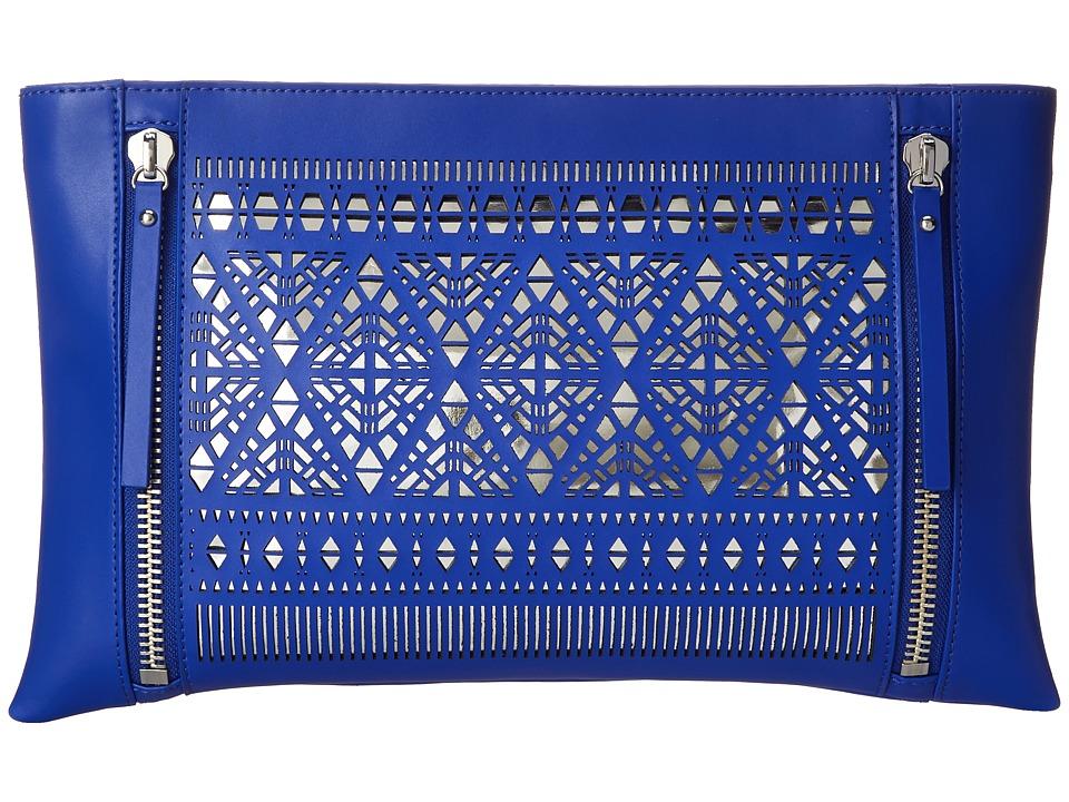 Vince Camuto - Lila Clutch (Ultra Violet/Silver) Clutch Handbags