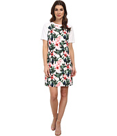Vince Camuto - Short Sleeve Jungle Lily Shift Dress