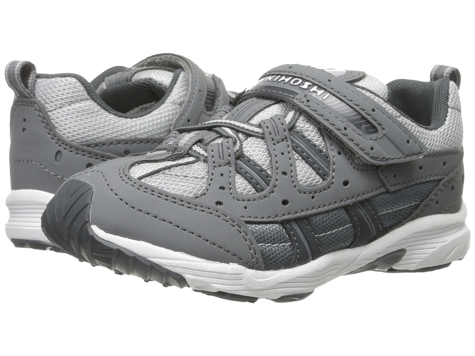 Tsukihoshi Kids - Speed (Toddler/Little Kid) (Gray/Gray) Boys Shoes