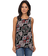 Vince Camuto - Sleeveless Marrakesh Tapestry Blouse
