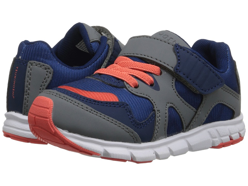 Tsukihoshi Kids Bolt Toddler/Little Kid Navy/Orange Boys Shoes