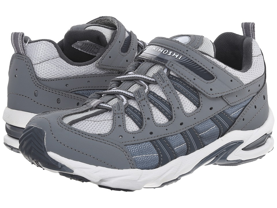 Tsukihoshi Kids - Speed (Little Kid/Big Kid) (Gray/Gray) Boys Shoes
