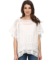 Vince Camuto - Embroidered Eyelet Poncho