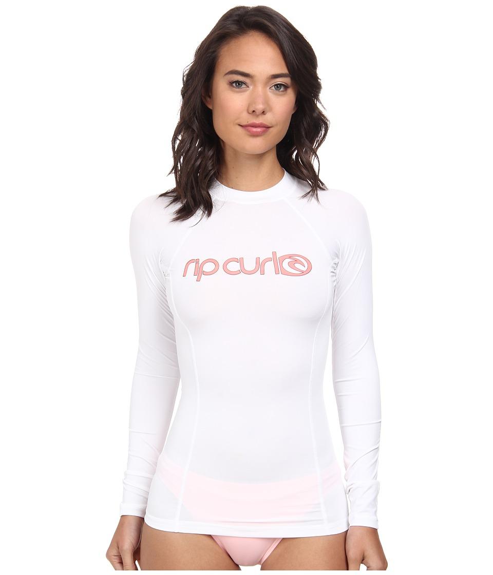 Rip Curl Surf Team Long Sleeve (White) Women