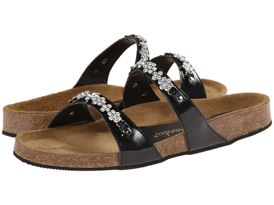 Shop Athena Alexander online and buy Athena Alexander Pamela Black Patent Womens Sandals online